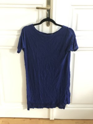 T by Alexander Wang blaues T-Shirt Kleid