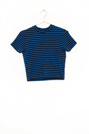 "T By Alexander Wang / ""Engineer striped T-Shirt"""