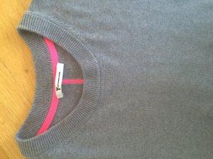 Alexander Wang Maglione girocollo grigio-rosa Cachemire
