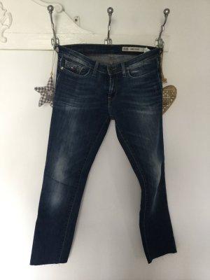 Tommy Hilfiger Jeans 7/8 bleu acier-bleu foncé