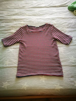 Zara Trafaluc T-shirt rood-blauw