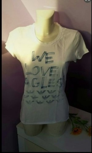 Armani Jeans Camiseta blanco