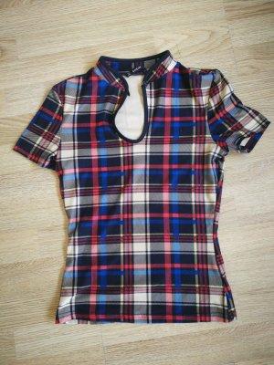 SheIn Empire shirt donkerrood