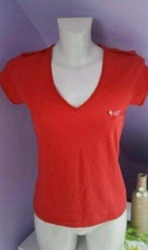 Armani Jeans Camiseta rojo