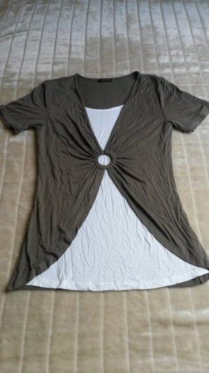 T-Shirt 2-in-1-Look neu