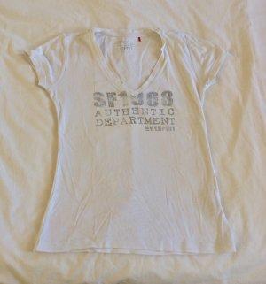 Esprit Camiseta estampada blanco