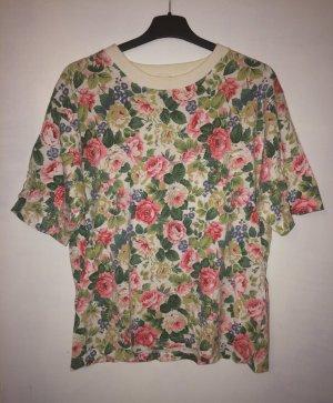 Zara T-shirt multicolore coton