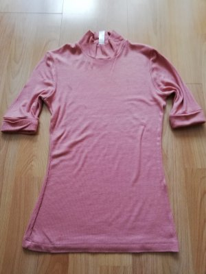 American Apparel Ribbed Shirt dusky pink