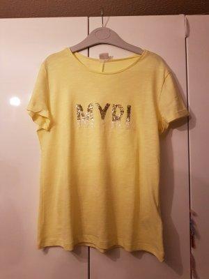 T shirt 36 gelb