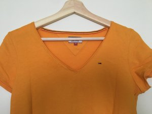 Tommy Hilfiger T-Shirt orange-light orange cotton