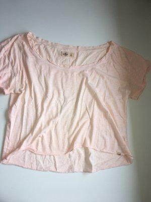 Hollister Cropped shirt abrikoos-rosé