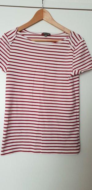 Street One Maglietta a righe bianco Cotone