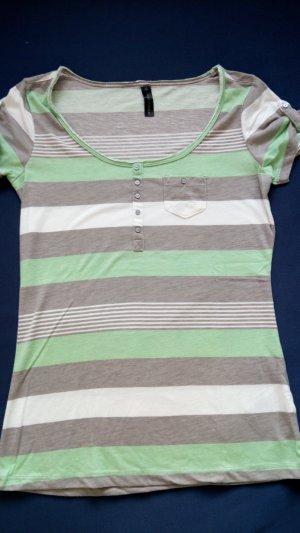 Fresh made Camisa de rayas multicolor