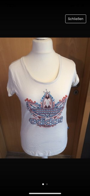 Adidas Originals T-shirt bianco sporco