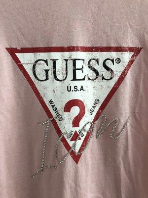 Guess T-shirt rosa pallido