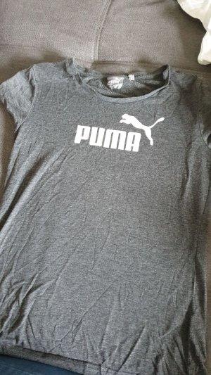 Puma T-Shirt white-grey
