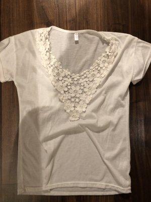 Camicia maglia bianco