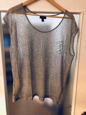 Mango Camicia grigio chiaro-argento