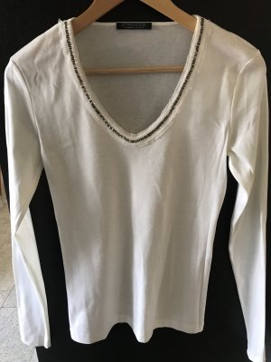 Strenesse Top basic bianco sporco
