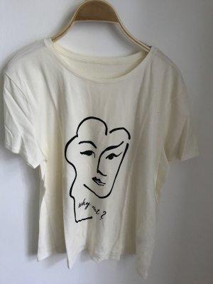 Orsay Camiseta blanco puro
