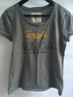 T-Shirt A&F grau mit Print