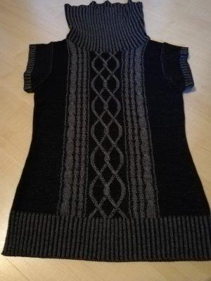 Blind Date Camisa tejida negro-gris