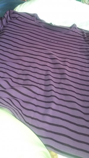Myline Stripe Shirt lilac