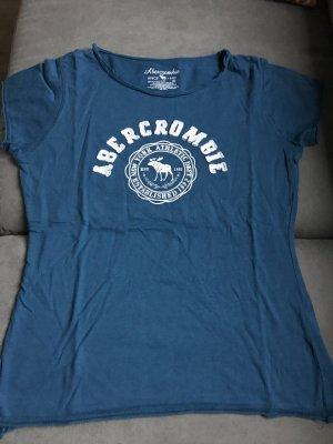 T-Shirt Abercrombie blau