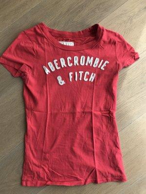 T-Shirt Abercrombie & Fitch Größe M Kirschrot
