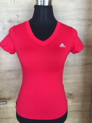 T-Shirt Adidas rot Gr 34 wie neu