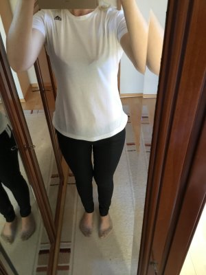 T-Shirt, Adidas, weiß, Gr. 36