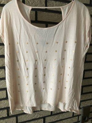 T-Shirt,Amisu,luftig, hellrosa,Gr.S