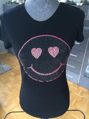 T-Shirt Amor & Psyche Strasssmiley S