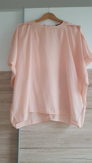T-shirt apricot rückenfrei