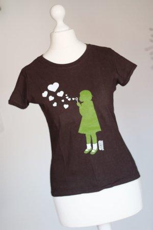 T-Shirt aus Amsterdam mit Mädchenprint