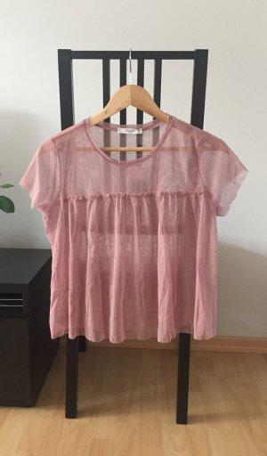 T-Shirt aus Tüll