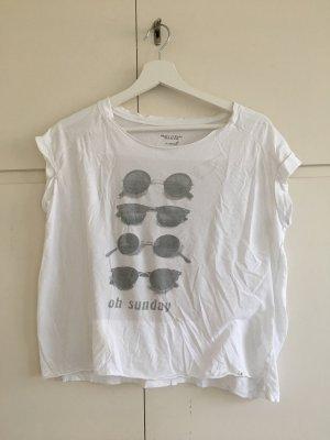 Marc O'Polo Camiseta blanco-gris claro
