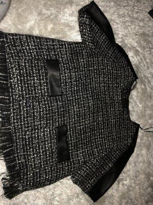 Camicia maglia nero-bianco