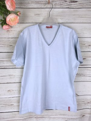 T-Shirt Basic Himmelblau blau