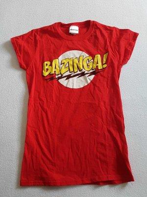 "T-Shirt ""BAZINGA"" Gr. 36/38 ""M"""