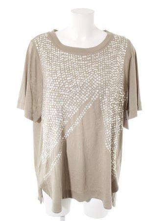 T-Shirt beige Elegant