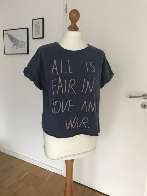 T-Shirt, Benetton, #allisfairinloveandwar, 36