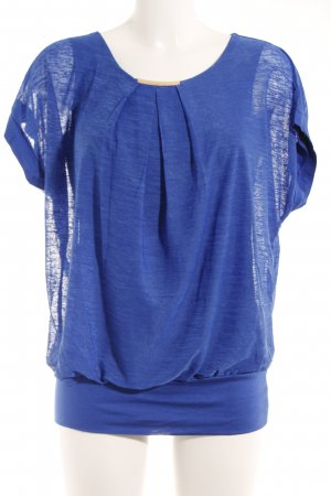 T-Shirt blau Casual-Look
