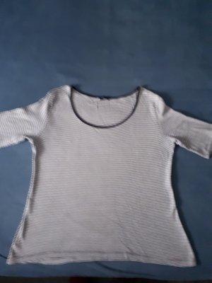 T Shirt blau weiss gestreift