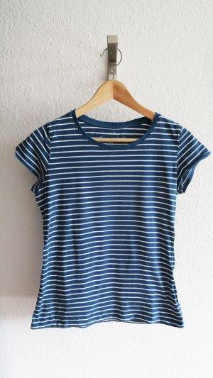 T-shirt blau weiß gestreift von Jakes S Basic