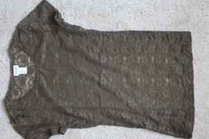 T-Shirt Blumennetz