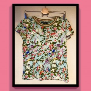T-Shirt Blumenprint  HALLHUBER