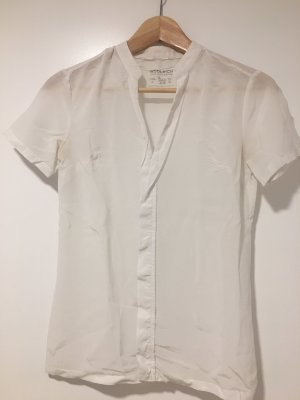 Woolrich Short Sleeved Blouse white