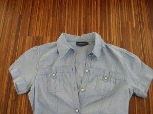 T-Shirt Bluse hellblau von MEXX, 34