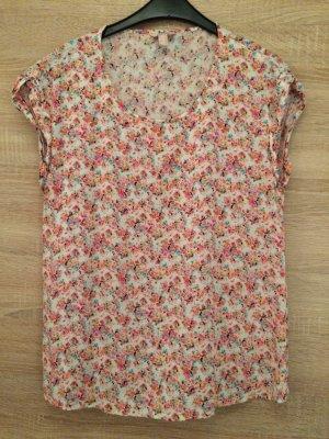 T-Shirt / Bluse mit Blumenprint